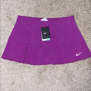 Nike Dri-Fit NWT Bright Purple Tennis Skirt M